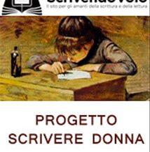 progetto scrivere donna