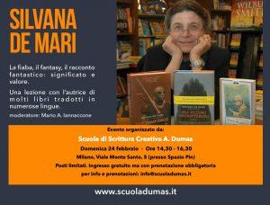 Scuola di scrittura creativa: come si scrive un fantasy Silvana de mari